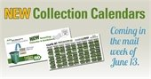 Have you received your new Curb It! recycling calendar?